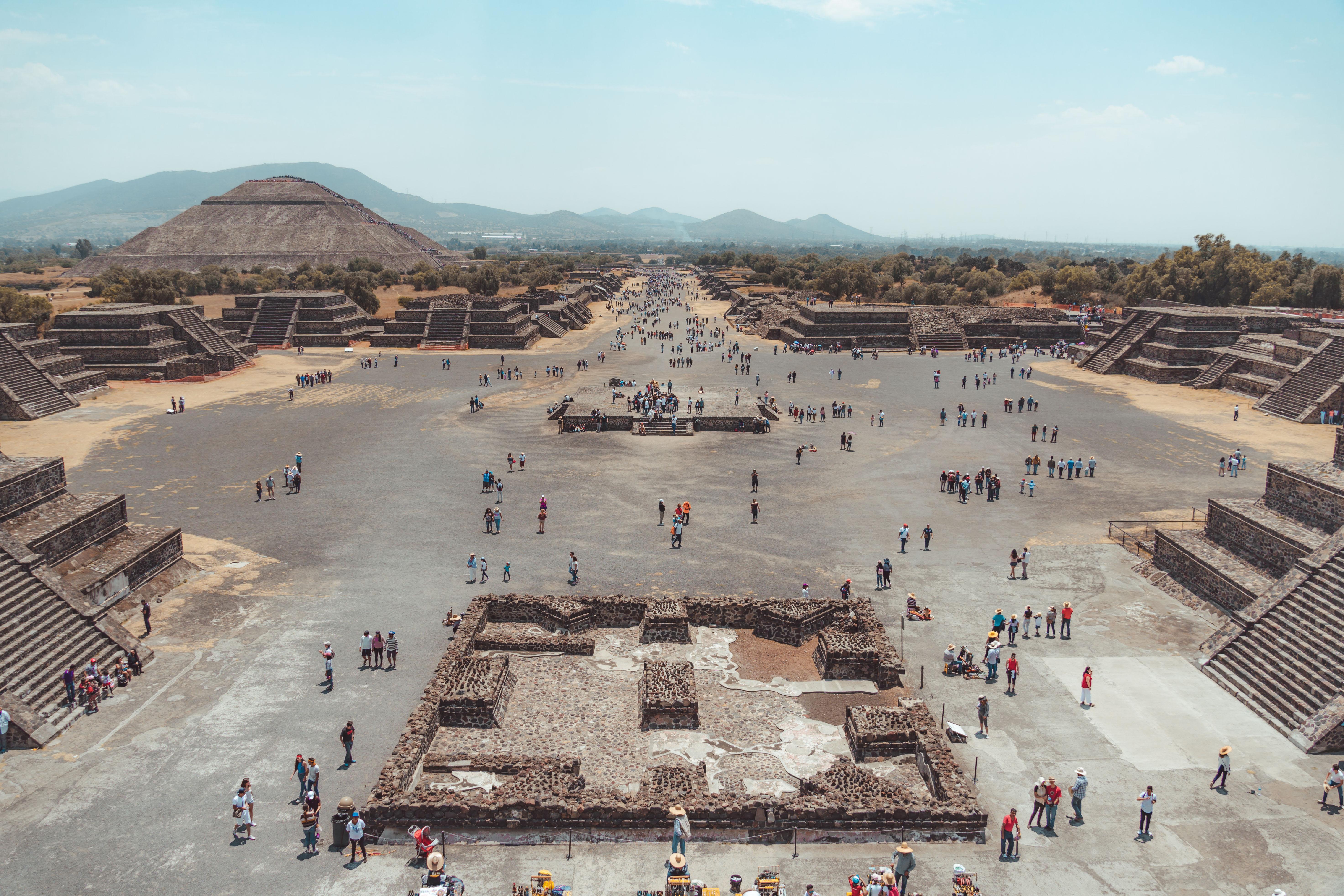 Il sito archeologico di Teotihuacan