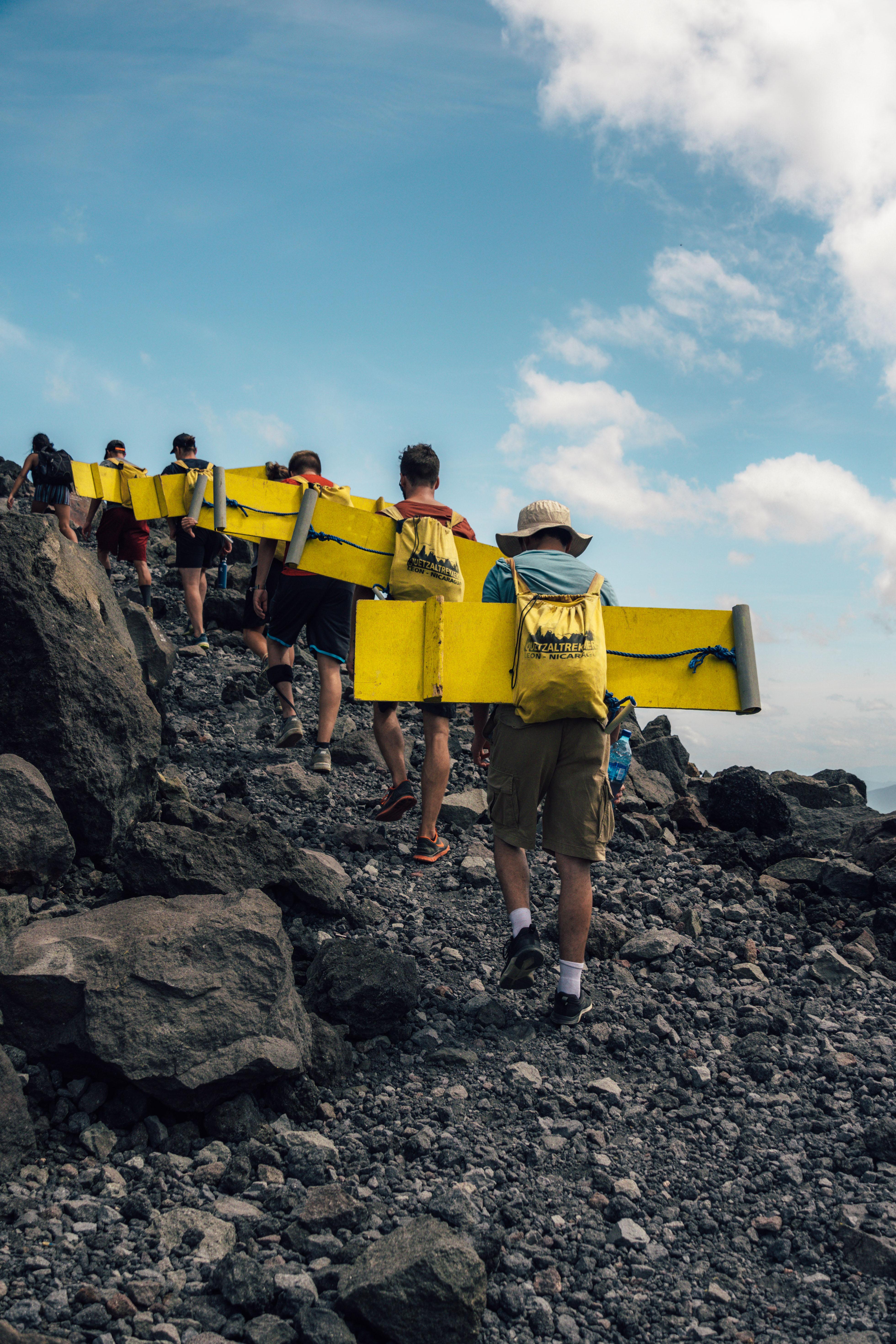 Vulcano Boarding in Nicaragua