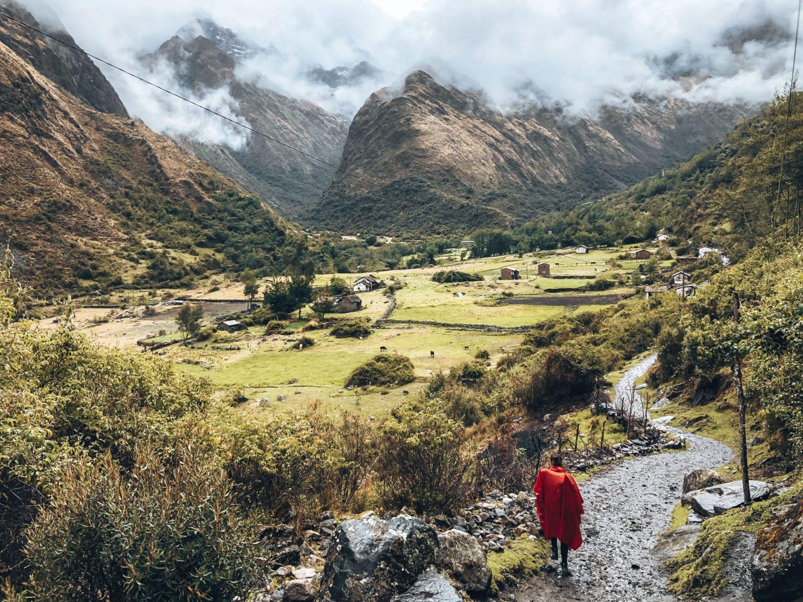 trekking di santa cruz